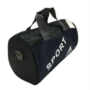 Gimnasio de fin de semana de baloncesto Duffel Sport Travel Saddle Bag (GB # 01621)