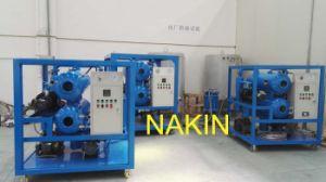 En la línea de aceite de transformador de plantas de tratamiento, purificador de aceite