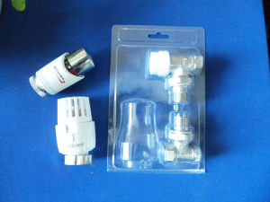 Thermostate Valve Set PVC Blister Packing BoxのためのPlastic明確なPVC Blister Box