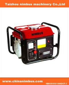 De rode Draagbare Generator van de Benzine van de Tijger (nb650/950/1000dcf-3)