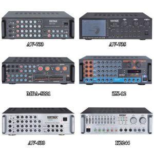 Karaoke 80W Sistema estéreo HiFi profesional Amplificador de eco