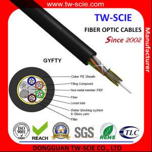 6 núcleos piscina GYFTY cabo tipo pigtail impermeável de Fibra Óptica