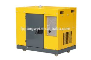 Торговая марка Dacpower портативный генератор дизельный генератор Air-Cooled Silent дизельного двигателя с помощью пульта дистанционного управления