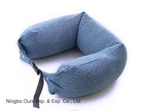 Bocal de formato em U de partículas de látex travesseiro de viagem fabricantes chineses