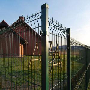 カスタム軽量の折る3D庭の塀の網パネル