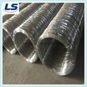 Aço de alto carbono galvanizado Fio Oval 2.4X3.0mm