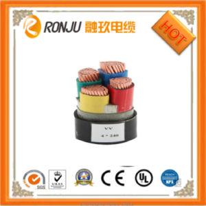 XLPE/PVC силиконового каучука короткого замыкания кабеля питания Термостойкий кабель питания