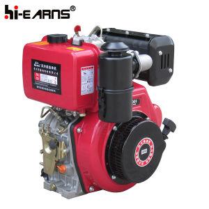 Dieselmotor met de Rode Kleur van de Filter van de Lucht van het Bad van de Olie (HR188FAE)
