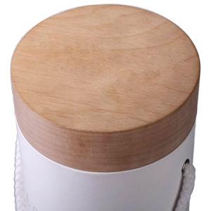 Elegante pantalla de tubo de papel embalaje Caja de vino tinto