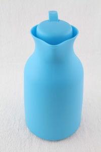 Housewareのプラスチック外のガラス内部のThermosの水差し1のリットル(JGDU)
