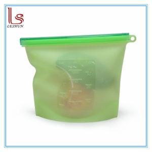 食糧のための卸し売り再使用可能な洗濯できるプラスチックシリコーンの記憶の新しい袋