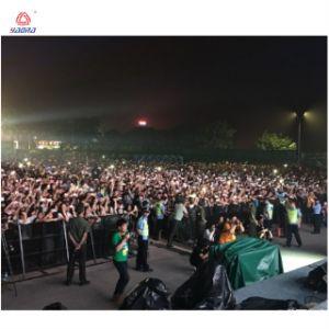 Faltende Konzert-Straßen-Sperre einziehbare Staeg Konzert-Masse-Berufssperre