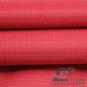 75D 240t tecidos Plaid 100% poliéster Jacquard Pongées Fabric (E030CPM)