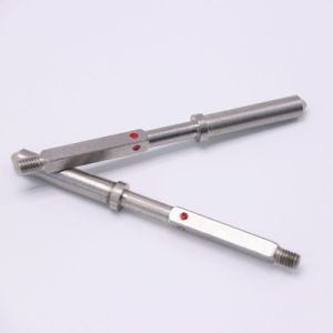 Fermo di giro di CNC di Pin di metallo di precisione su ordine