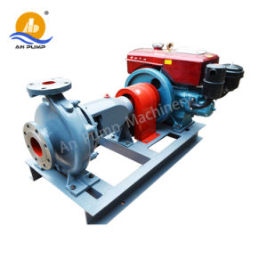 Bewegliche Dieselmotor-Bewässerung-zentrifugale Wasser-Pumpe