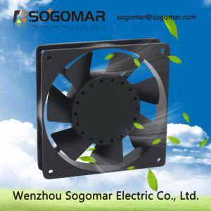 Высокая производительность 7 черные пластиковые лопасти 4 дюйма толщиной 25мм панели для корпуса вентилятора