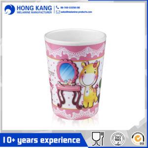 Karikatur gedrucktes trinkendes Plastikmelamin-Cup