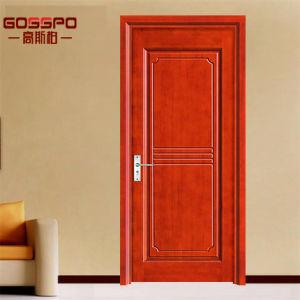 Porte en bois de chambre à coucher en bois d\'acajou de placage d ...