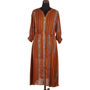 Mesdames de l'été lâche et personnalisé à l'aise de tempérament décontracté de mode de haute qualité nouveau mid-sleeved V-cou robe