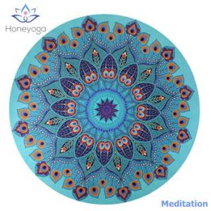 Couvre Tapis Rond De Meditation De Yoga De Mandala De Cercle
