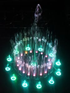 2 Fontein van de Tuin van het van de m- Diameter de In het groot die Water voor Huis Decorarion wordt gebruikt