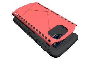 2017 Samsung S8の端のための1つのパソコンTPUの装甲シェルのハイブリッド携帯電話の箱に付き新しい到着の中国の工場2つ