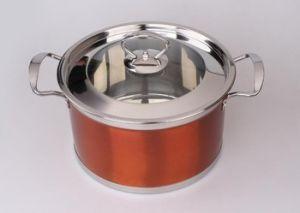 Edelstahl Saucepot u. Stockpot-u. Suppe-Potenziometer (WCP-003)