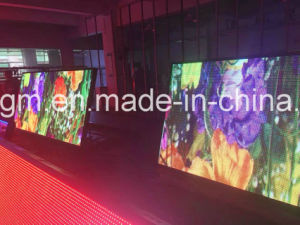 Imperméable à l'extérieur de faible puissance Affichage LED double face P10mm
