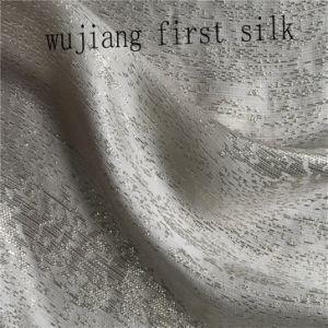 De seda de alta qualidade Lurex tecido misto