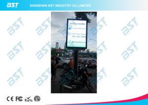 P5 Pôle d'éclairage de rue de la publicité extérieure de l'écran à affichage LED avec conception Smart Phone