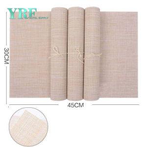 Foshan Guangzhou Hotel Placemat de tecidos de vinil PVC Pequeno