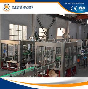 3000-4000bph de automatische Machine van het Flessenvullen van het Glas
