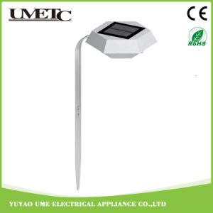 Nueva luz al aire libre modificada para requisitos particulares del césped del jardín del sensor de la energía solar LED