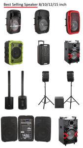 Double 15pouces Super karaoké son Bluetooth haut-parleur pour équipement de scène