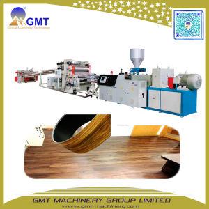 Machine van de Extruder van de Tegel van het Blad van de Vloer van de Plank van pvc de Houten Vinyl Plastic