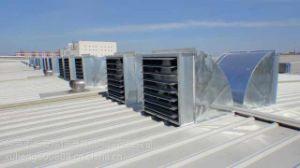 Hot Sale serre Ventilateur de toit industriel en usine