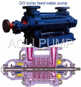 Pompa a più stadi ad alta pressione orizzontale di acqua d'alimentazione della caldaia della DG