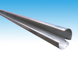 La energía solar de aletas de aluminio