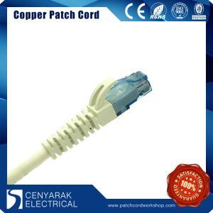 Cat. 6 UTP 24AWG LSZH de PVC/1m azul conector RJ45 Cable de conexión