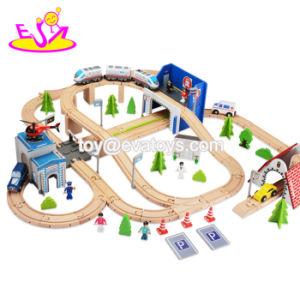 Mais Populares 149 PCS a magia de madeira Toy Car via para as crianças W04C082