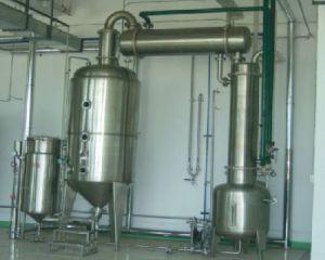 Evaporador de película de queda Jd do efeito do leite único EVA03