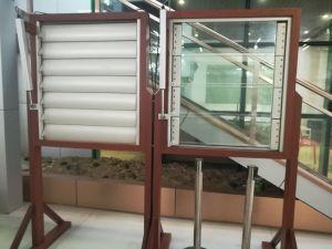 Perfil de aluminio rejilla para edificio comercial y de la Villa