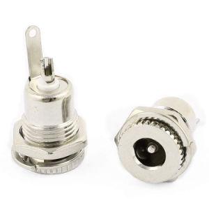 Zoccolo della femmina del rifornimento di corrente continua Del connettore 8A 5.5*2.5 millimetro della spina del metallo