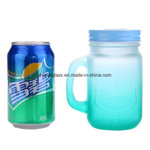 Saft-trinkender Becher mit Griff
