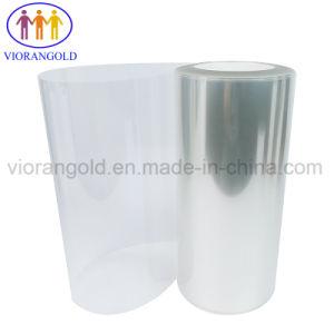 ガラスプラスチックスクリーンの保護のためのアクリルの接着剤が付いている25um/36um/50um/75um/100um/125umの透過か赤いペット保護フィルム