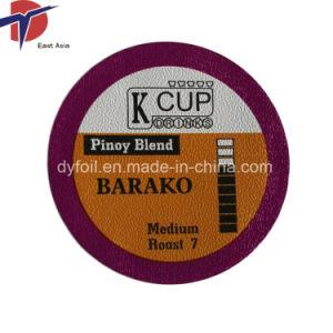 51mm de K Cup les couvercles d'étanchéité en aluminium