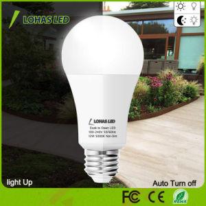 A19 Lohas Anoitecer ao Amanhecer Lâmpada do Sensor de Luz de Segurança