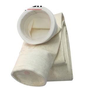 Saco de filtro de poliéster antiestática / agulha Non-Woven sentiu perfurado