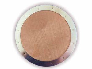 As telas do extrusor cobre boa resistência a alta temperatura