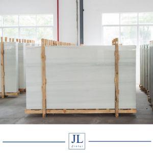 純粋な白人の黒いブラウンVeine Corlorfulは水晶石、Nano結晶させたガラス石、人工的な石Artificial&#160を張りめぐらす; Marble 平板の工場